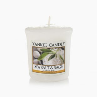 Sea Salt & Sage Votive