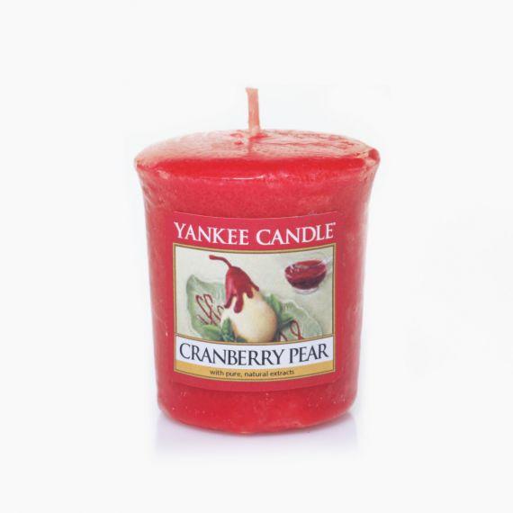 Cranberry Pear Votive