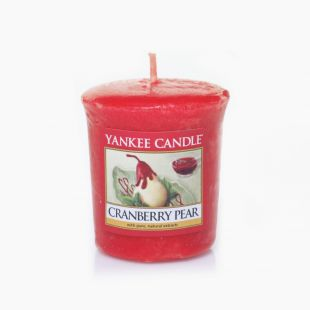 Cranberry Pear Votive