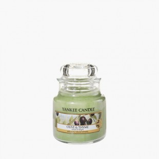 Olive & Thyme Bougies Jarres