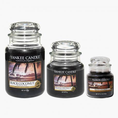 yankee candle jarre black coconut. Black Bedroom Furniture Sets. Home Design Ideas