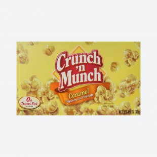 Pop Corn Crunch' N Munch Caramel with Peanuts