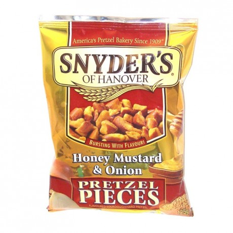 Honey Mustard Onion Pretzel Pieces Snyder's