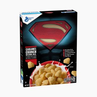 Cereales Superman Caramel Crunch General Mills