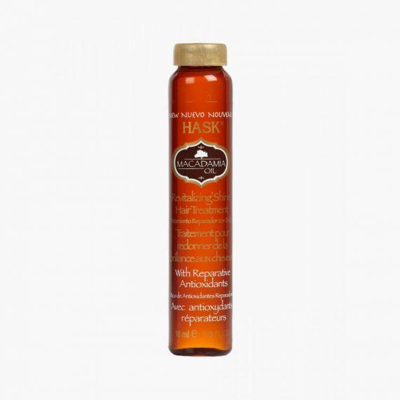 Hask Macadamia Oil Moisturising SHINE® Oil