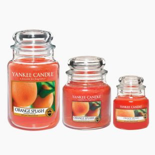 Summer Peach Bougies Jarres