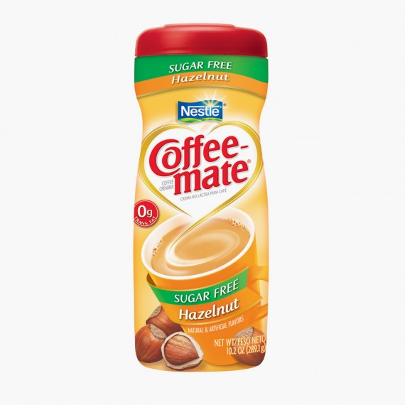 Coffee Mate Sugar Free Hazelnut 15 OZ