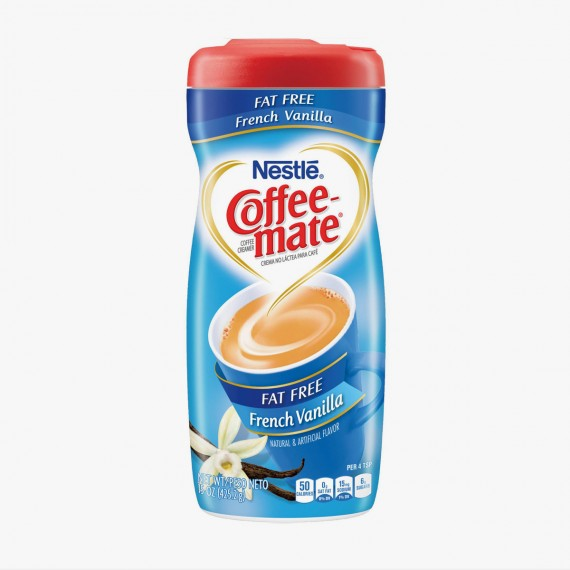Coffee Mate Fat Free French Vanilla  15 OZ