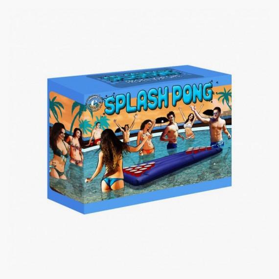 Splash Pong | Table de beer pong flottante gonflable