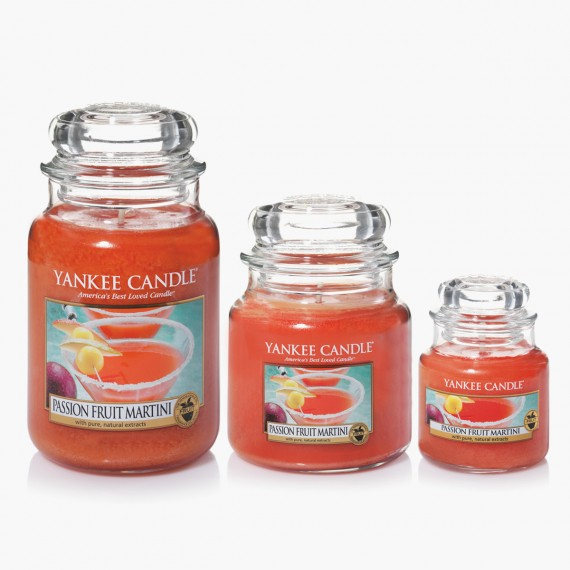 Yankee Candle Passion Fruit Martini Bougies Jarres