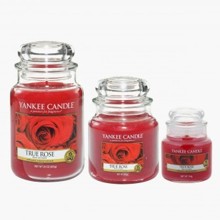 True Rose Bougies Jarres