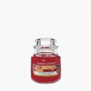 Rhubarb Crumble Bougies Jarres