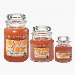 Honey Clementine Bougies Jarres