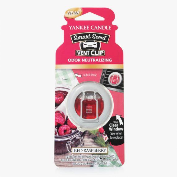 Red Raspberry Smart Scent Vent Clip