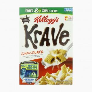 Kellogg's Krave Chocolate fourrées au chocolat grain complet