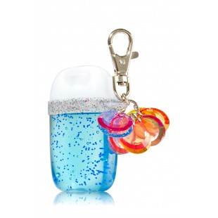 Pocketbac Holder Multi Glitter pour anti bacterien bath and body works