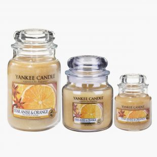 Star Anise & Orange Bougies Jarres