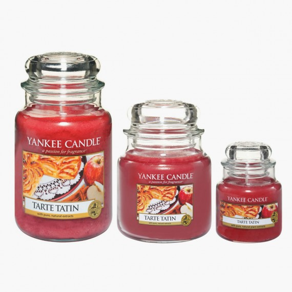 Yankee Candle Bougie Petite Jarre Tarte Tatin