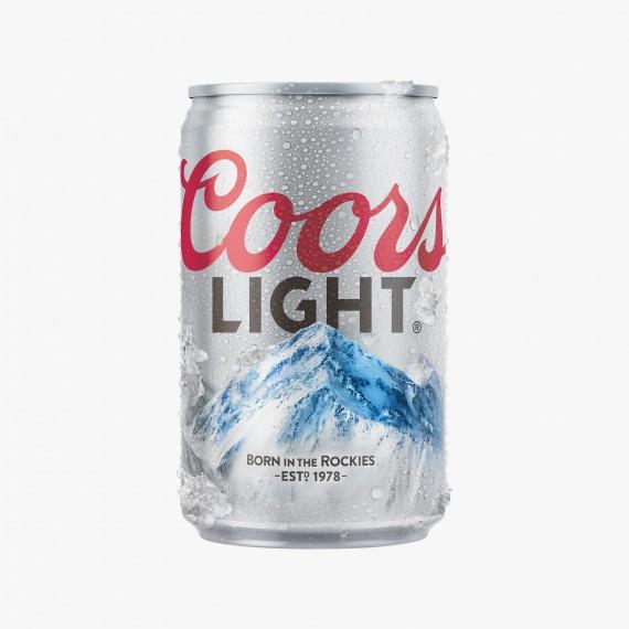Coors Light Bière légère rafraichissante importée des USA