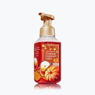 Bath & Body Works à Paris Pumpkin Cranberry Cider Savon doux moussant