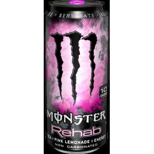 Monster Rehab Pink Lemonade