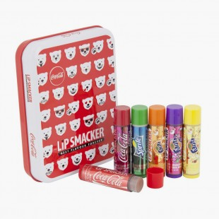 Lip smacker Bear Emojis Tin Box