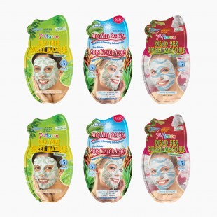Pack Masques Tissu soin 5 minutes