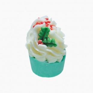 Moelleux de bain Jolly Holly Bomb Cosmetics