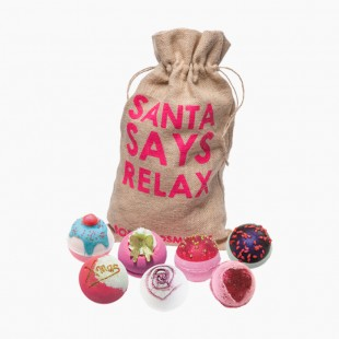 Coffret Santa Says Relax Bomb Cosmetics