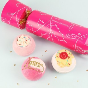 Coffret Berry Christmas Cracker Bomb Cosmetics