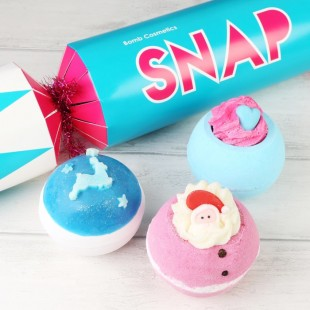 Coffret Boules de Bain Snap Cracker Bomb Cosmetics