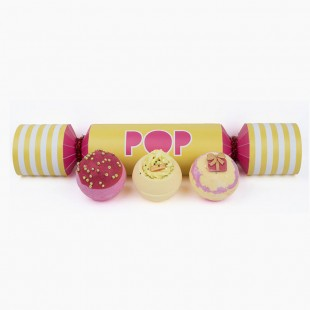 Coffret Boules de Bain Pop Cracker Bomb Cosmetics