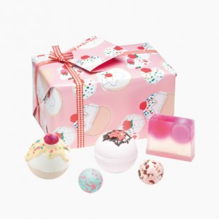 Coffret Boules de Bain Cherry Bathe Well Bomb Cosmetics