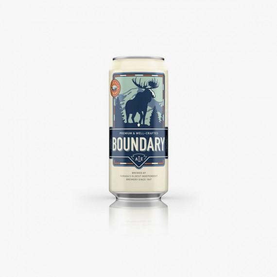 Boundary Beer biere blonde canadienne