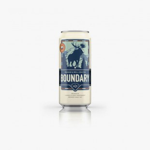 Boundary Beer biere blonde canadienne