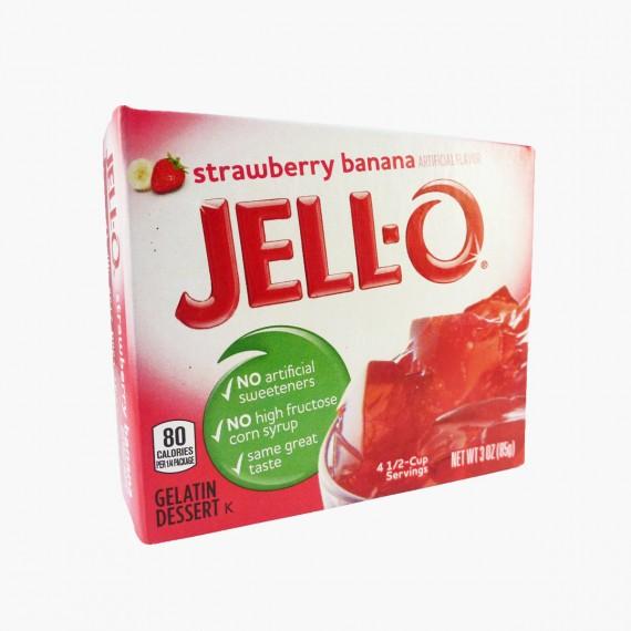 Jell-O Strawberry Banana