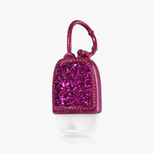 Purple Glitter Pocketbac Holder