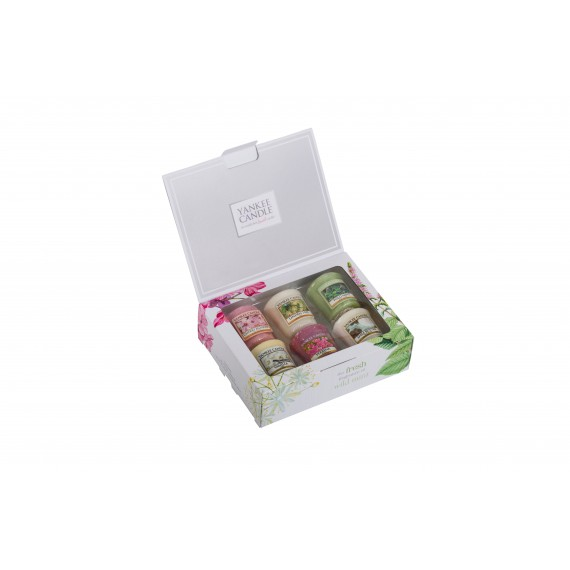 Coffret 6 Votives Pure Essence 2017