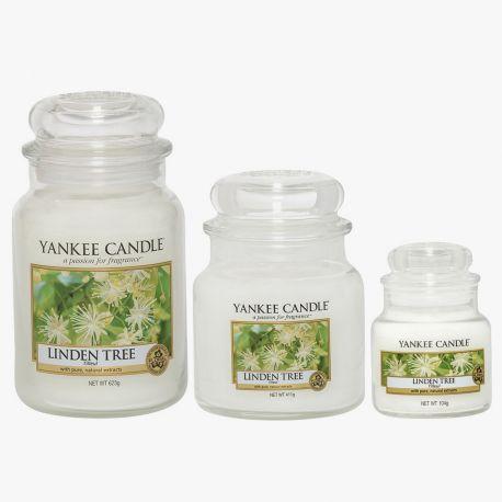 yankee candle bougies jarres linden tree. Black Bedroom Furniture Sets. Home Design Ideas