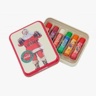Lip Smacker Coca Cola Santa Tin Box