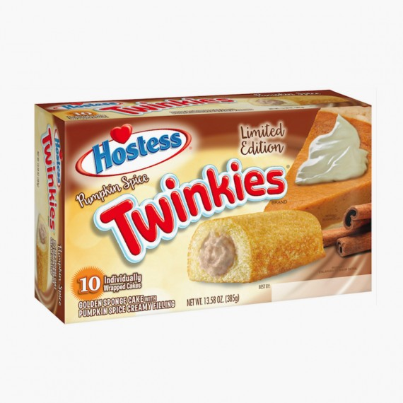 Twinkies Pumpkin spice citrouille potiron