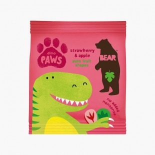 Bear Dino Paws Fraise & Pomme