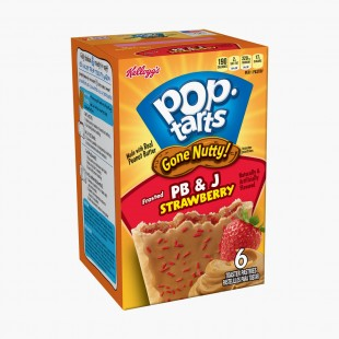 Pop Tarts Strawberry & Peanut Butter