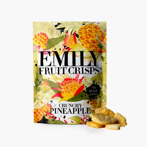 Crunchy PineApple Emily Crisps chips de fruits