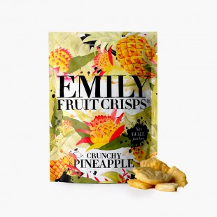 Crunchy PineApple Emily Crisps chips de fruits