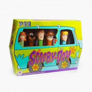 Pez Scooby-Doo Mystery Van Collector Box