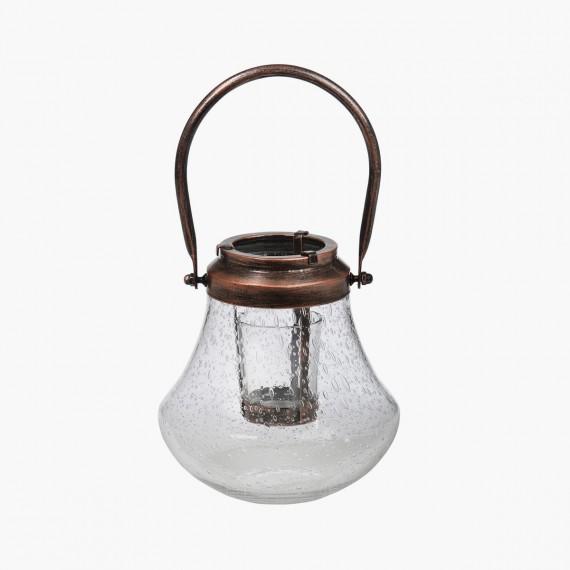 Photophore Lanterne metal et verre Yankee Candle