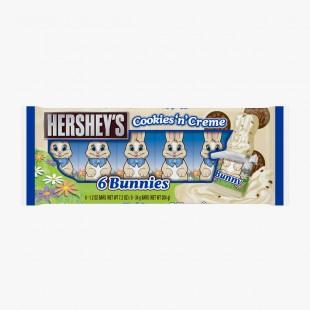 Hershey's cookies'n'Creme bunnies 6 pack 204g