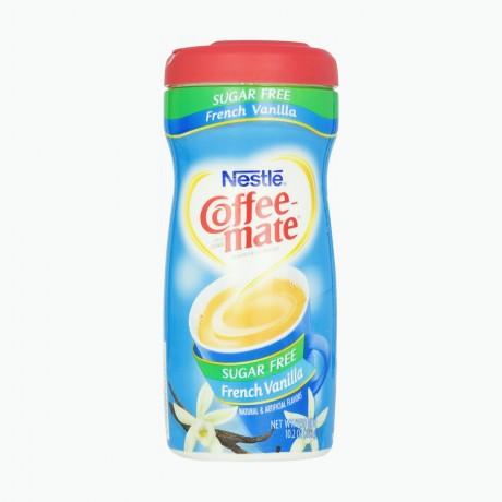 Nestlé Coffee Mate French Vanilla Sans Sucre sans lactose