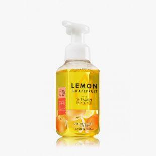 Lemon Grapefruit Savon doux moussant